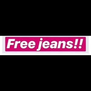 Denim - FREE Jeans with Bundle of 2 or more Listings